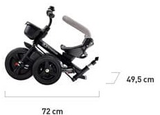 Tricycle Kinderkraft Aveo plié